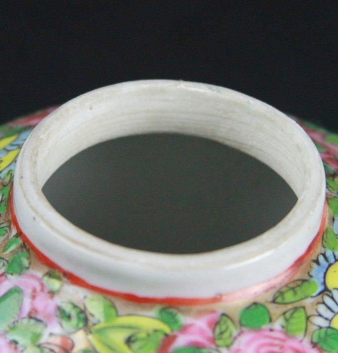 Chinese Famille Rose Tea Pot - 3