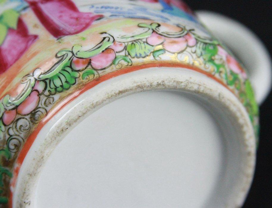 Chinese Famille Rose Tea Pot - 4