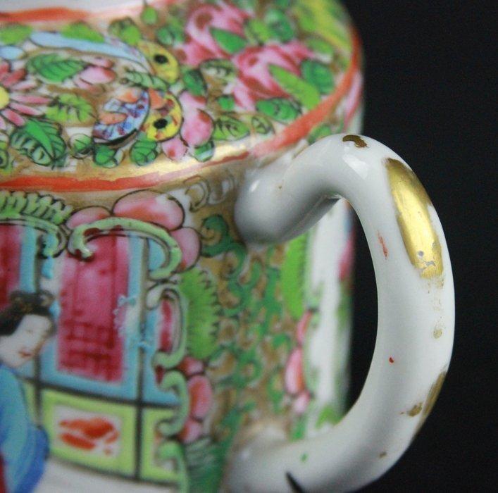 Chinese Famille Rose Tea Pot - 5
