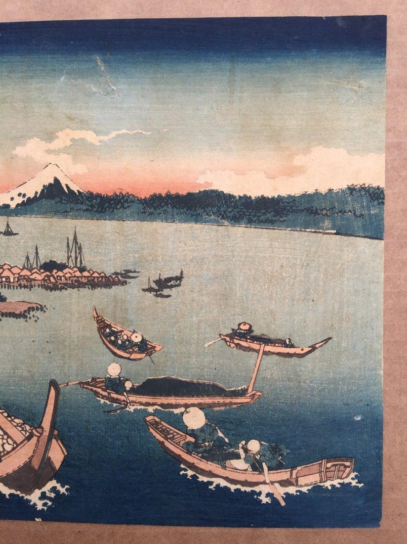 Japanese Woodblock Print Katsushika Hokusai - 3