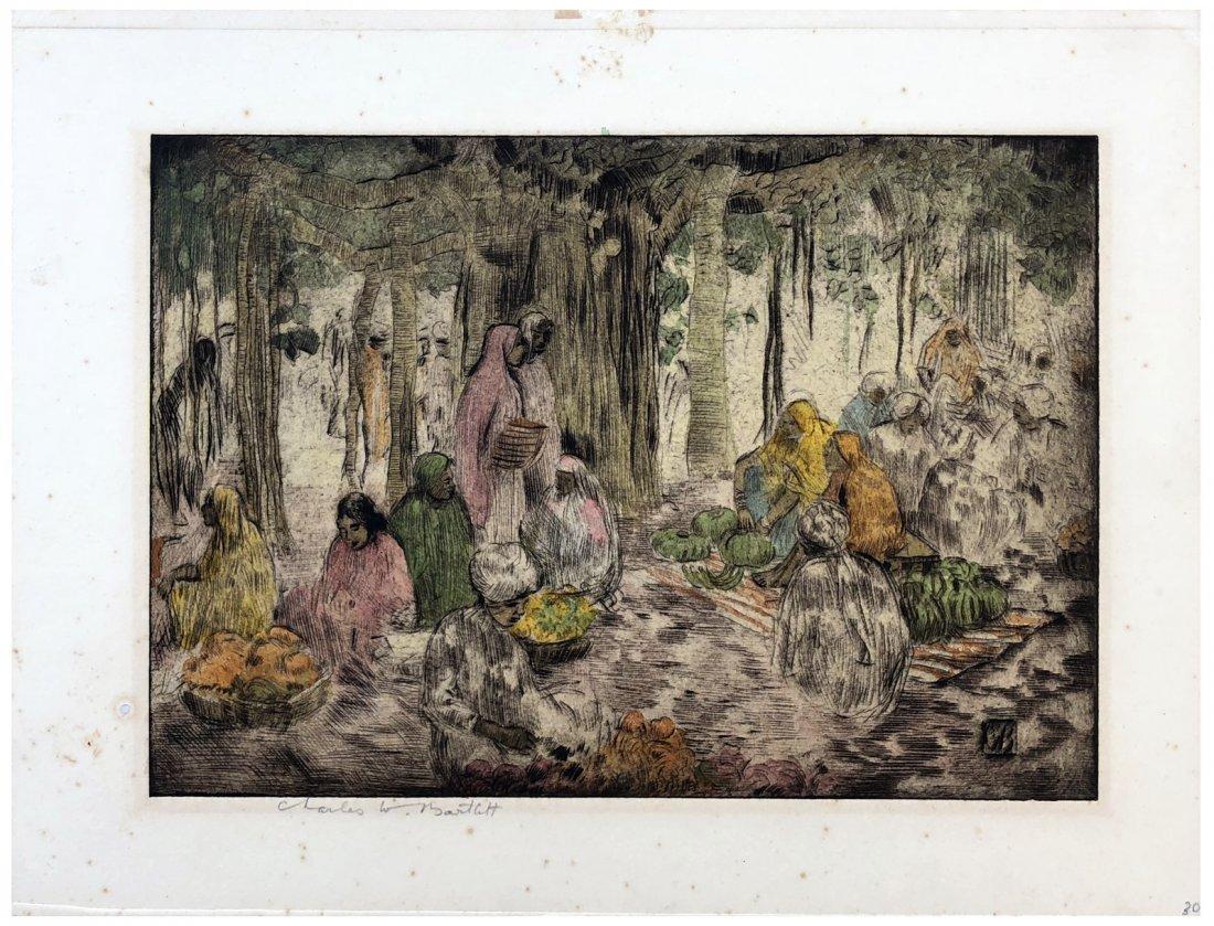 Japanese Woodblock Print Charles Bartlett