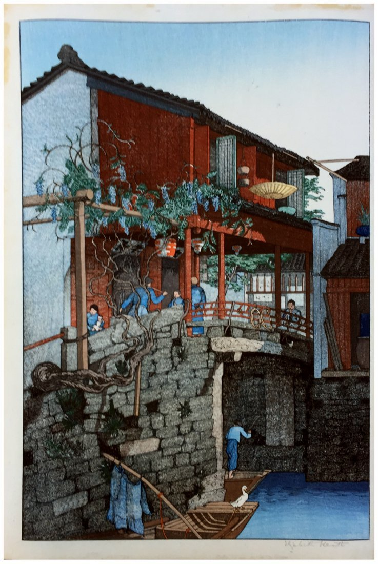 Japanese Woodblock Print Elisabeth Keith