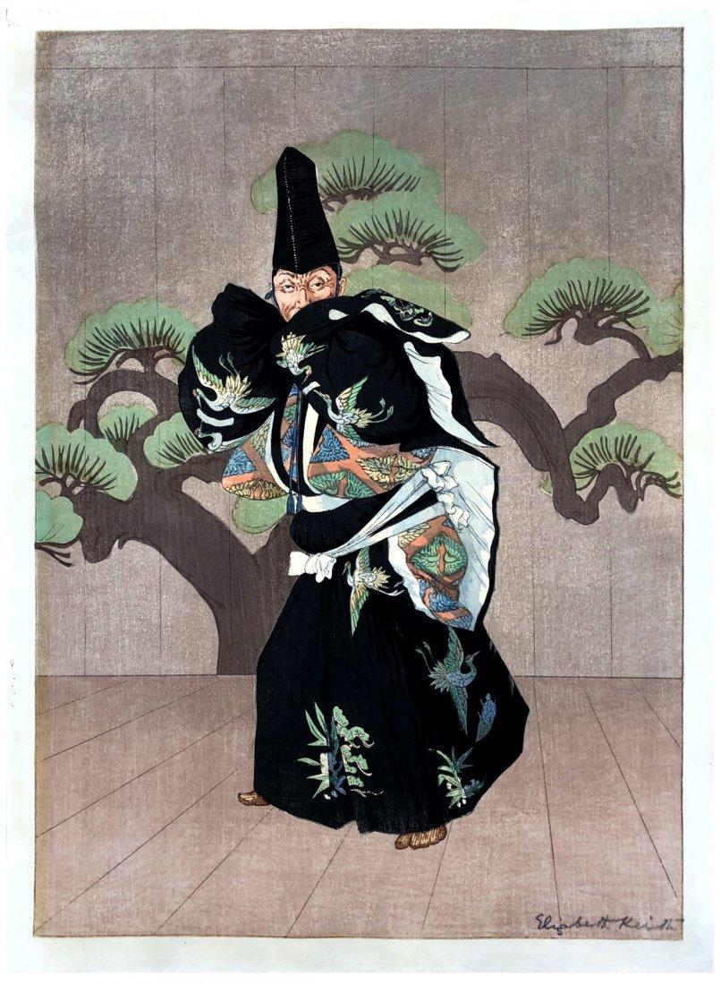 Japanese Woodblock Print Elisabeth Keith