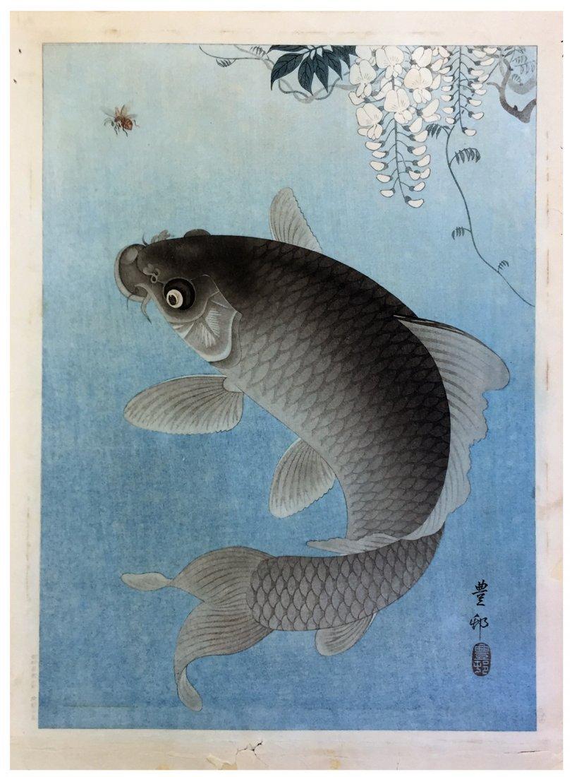 Japanese Woodblock Print Ohara Koson
