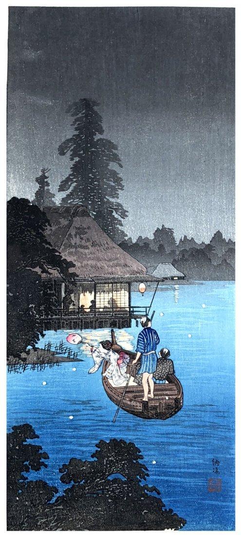 Japanese Woodblock Print Kiyoshi Shotei