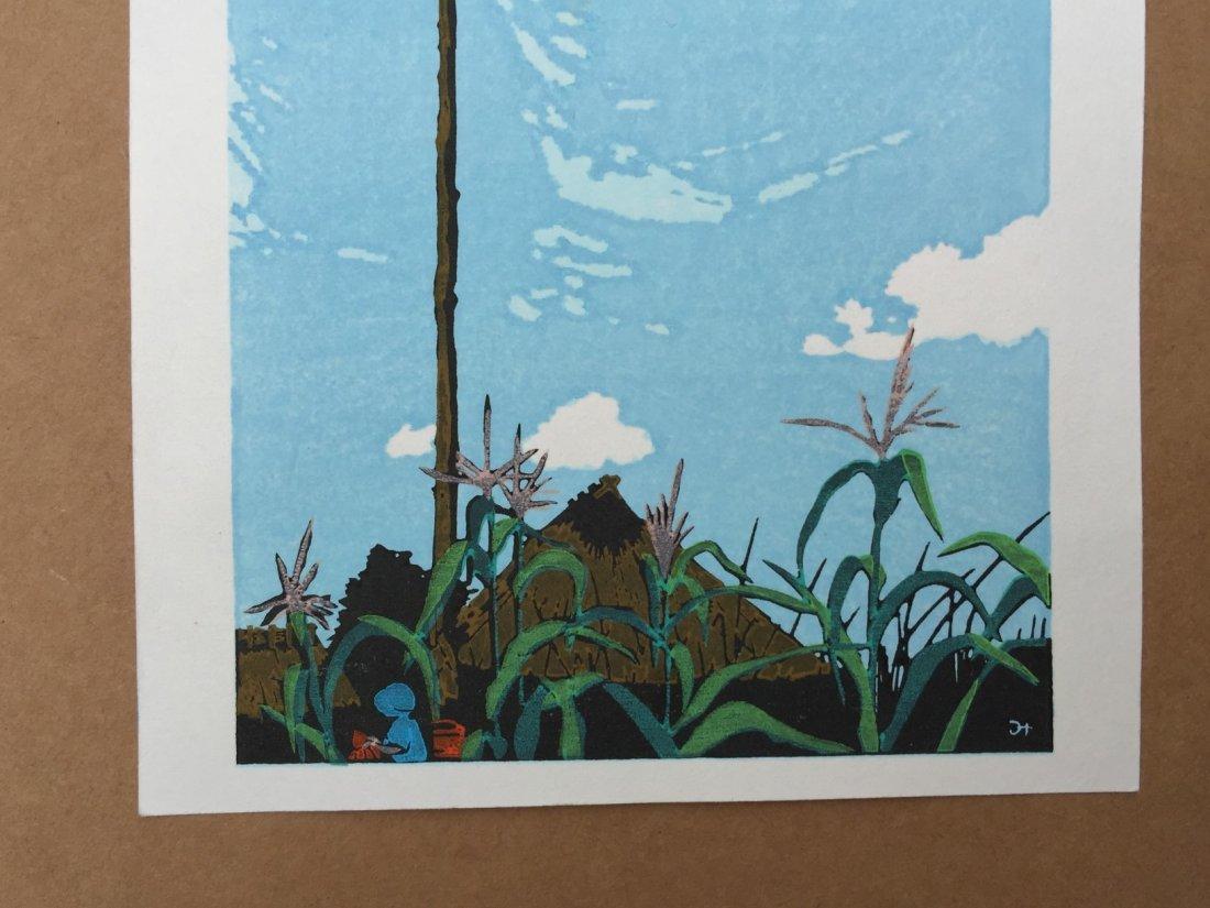 Japanese Woodblock Print Mitsuhiro Unno - 2