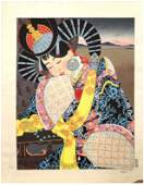 Japanese Woodblock Print Paul Jacoulet
