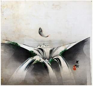 Japanese Woodblock Print Lijima Koga