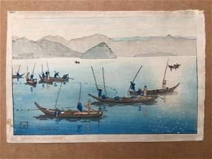 Japanese Woodblock Print Charles Bartlett