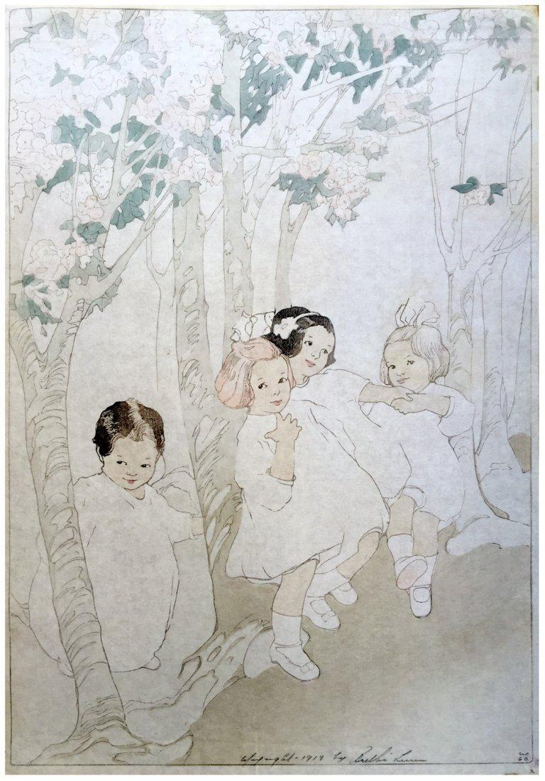 Japanese Woodblock Print Bertha Lum
