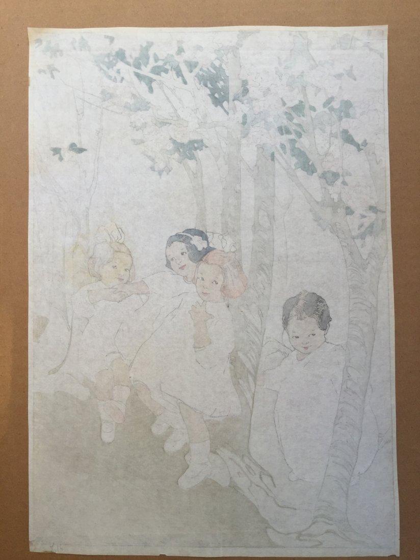 Japanese Woodblock Print Bertha Lum - 3
