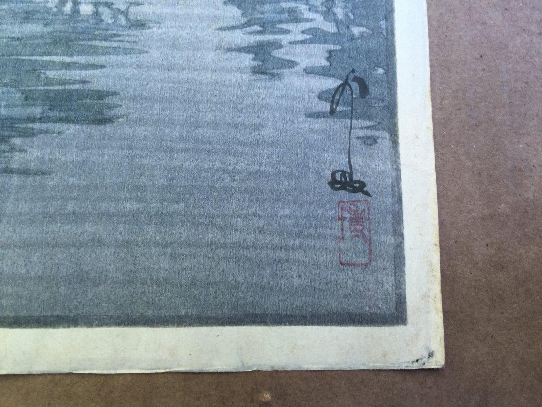 Japanese Woodblock Print Hiroshi Yoshida - 3