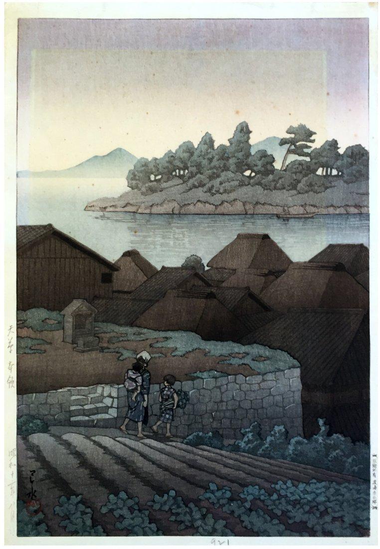 Japanese Woodblock Print Kawase Hasui