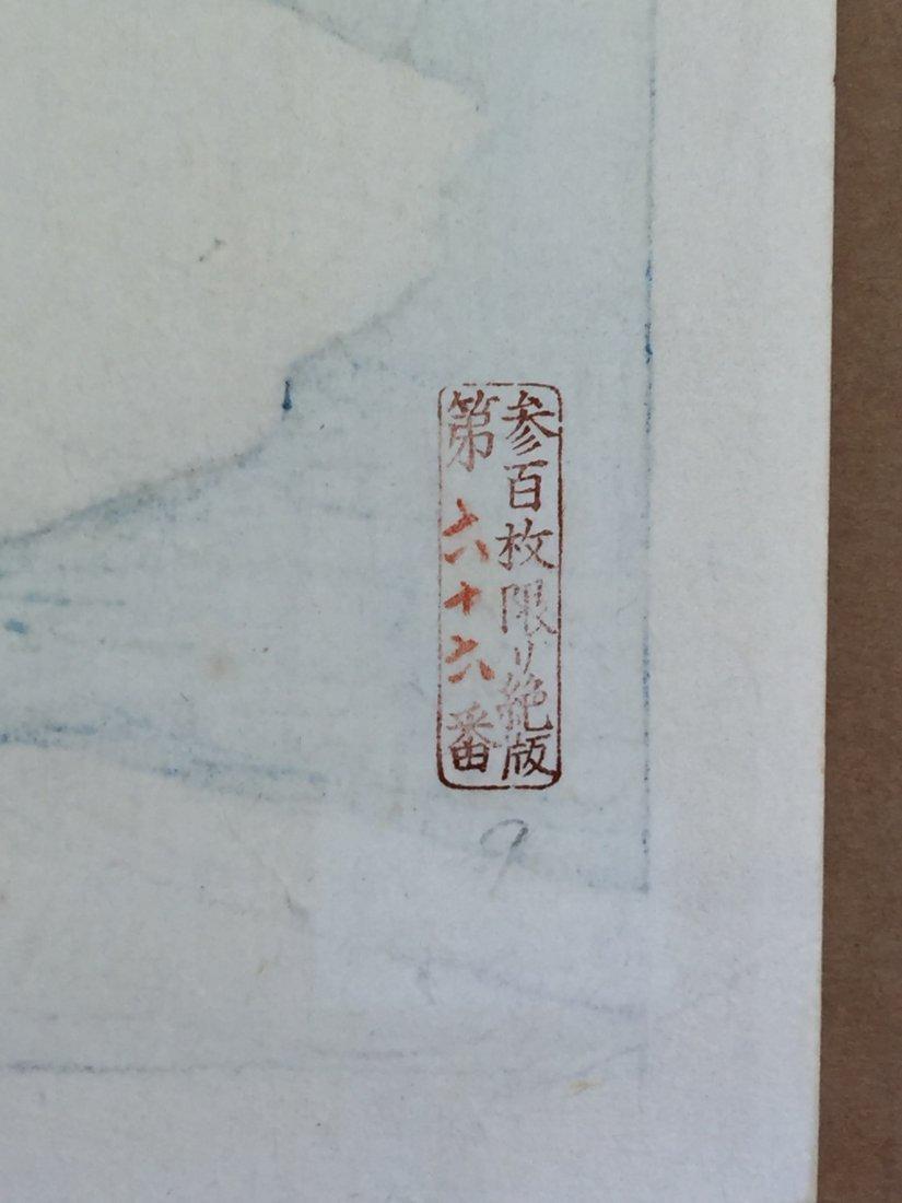 Japanese Woodblock Print Kawase Hasui - 5