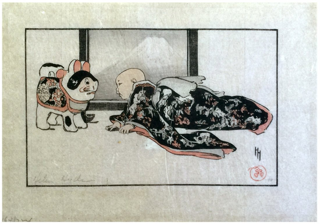 Japanese Woodblock Print Helen Hyde