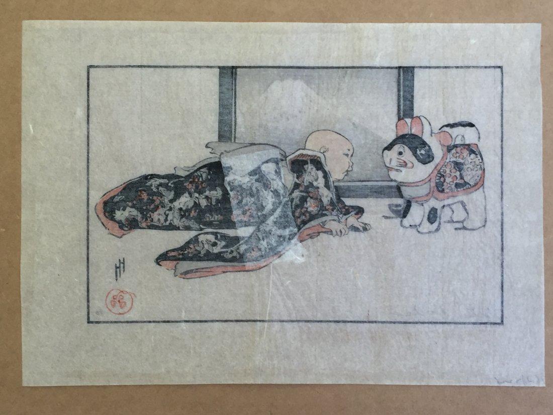 Japanese Woodblock Print Helen Hyde - 3