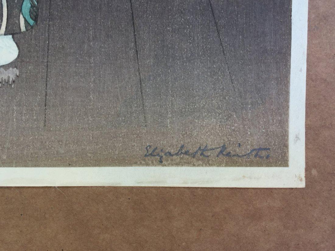 Japanese Woodblock Print Elisabeth Keith - 2
