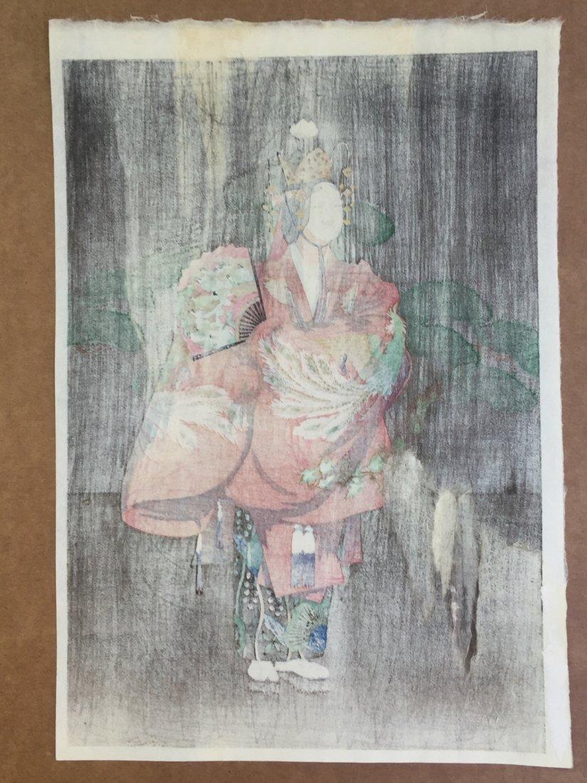 Japanese Woodblock Print Elisabeth Keith - 3