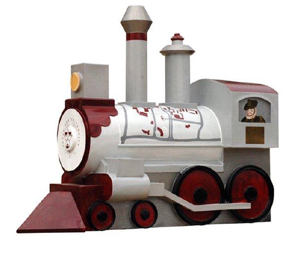 25: Train # 4 Engine No. 12