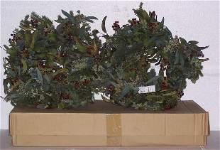 "Eucalyptus/Redberry Wreath(s) FOUR, Beautiful 24"""