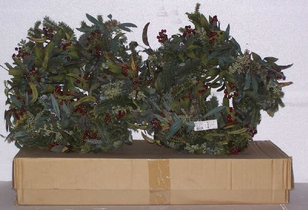100: Eucalyptus/Redberry Wreath(s) FOUR, Beautiful 24""