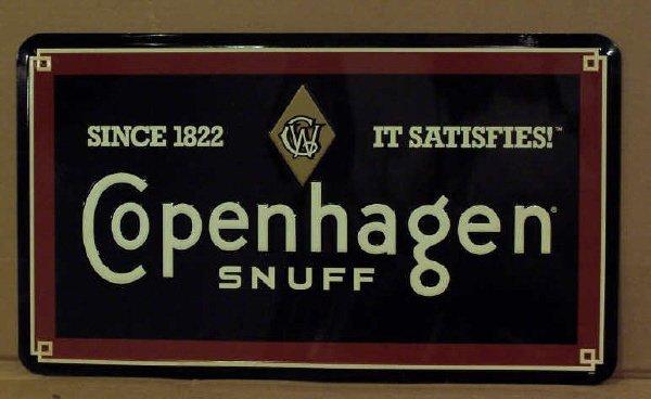 4: New Copenhagen Metal Sign