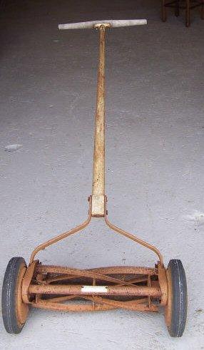 11: Sears Craftsman Reel Mower