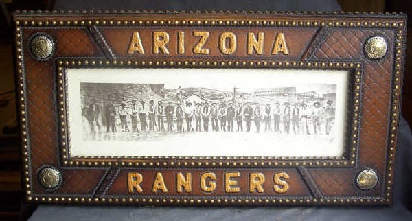 17: Framed Photo of Arizona Rangers
