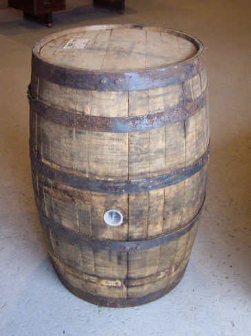 260: Jack Daniels Oak Whiskey Barrel