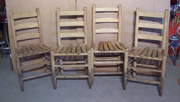 6A: Dixie Chicken Domino chairs