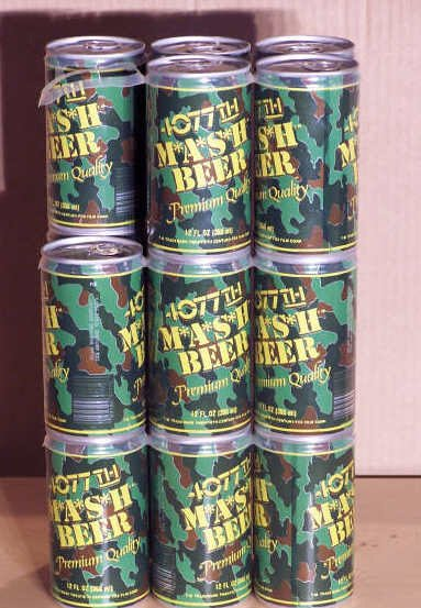 8A: M*A*S*H 4077th Beer Cans