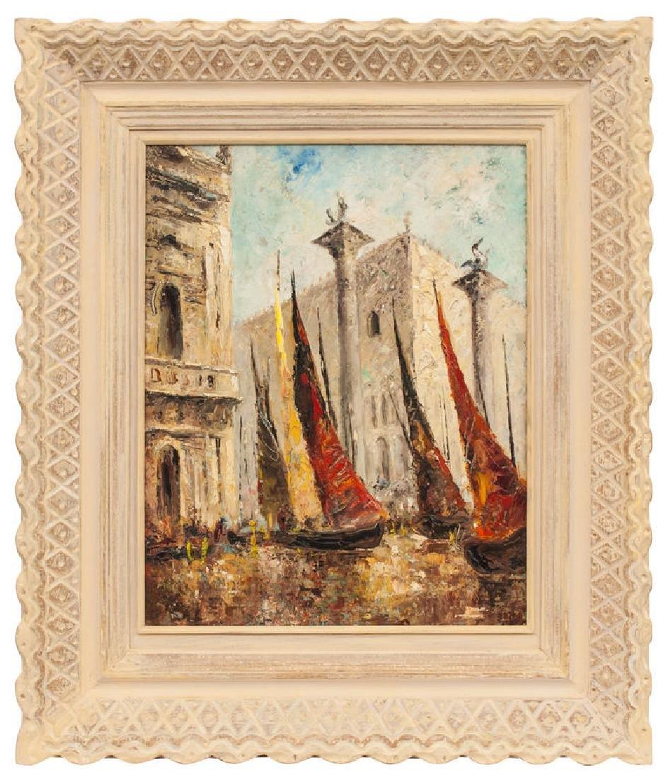Venice - Doge's Palace,  Ludolfs Liberts (1895-1959)