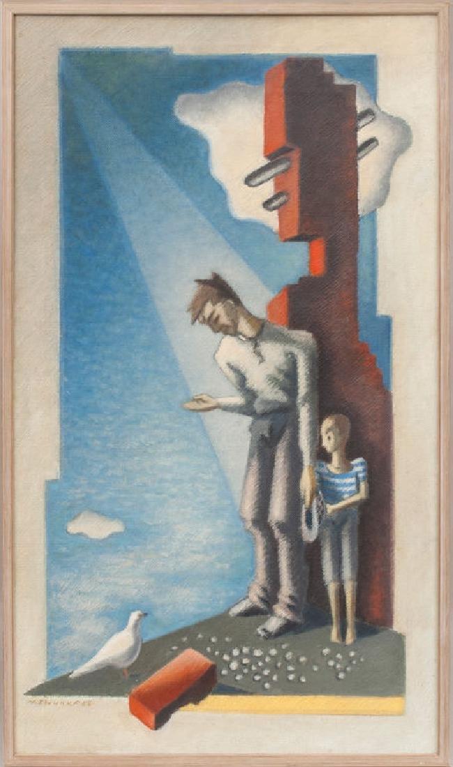 Refugees,  Niklavs Strunke (1894-1966)