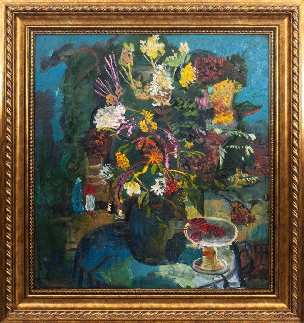 Flowers,  Indulis Zarins (1929-1997)