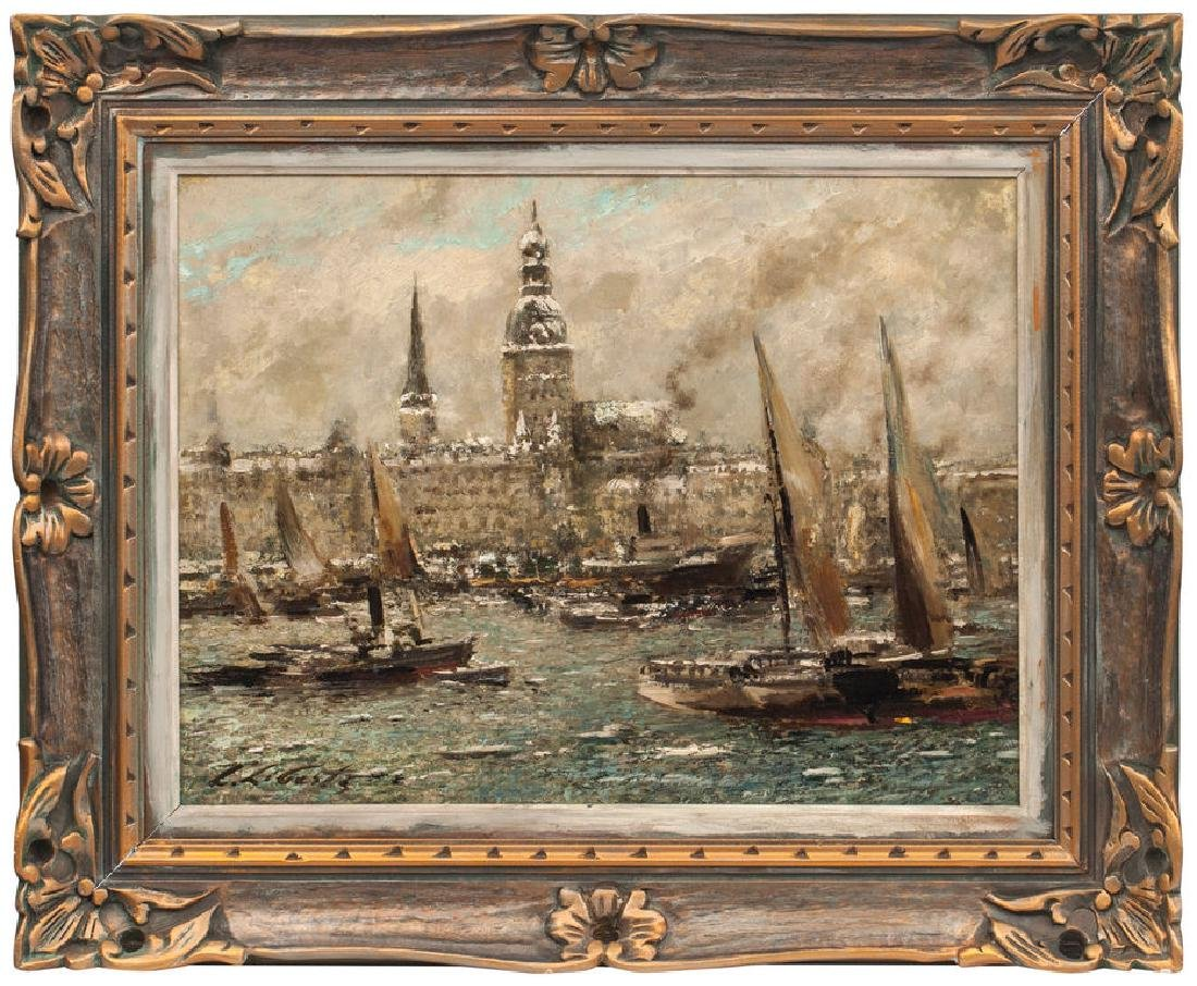 View of Riga,  Ludolfs Liberts (1895-1959)