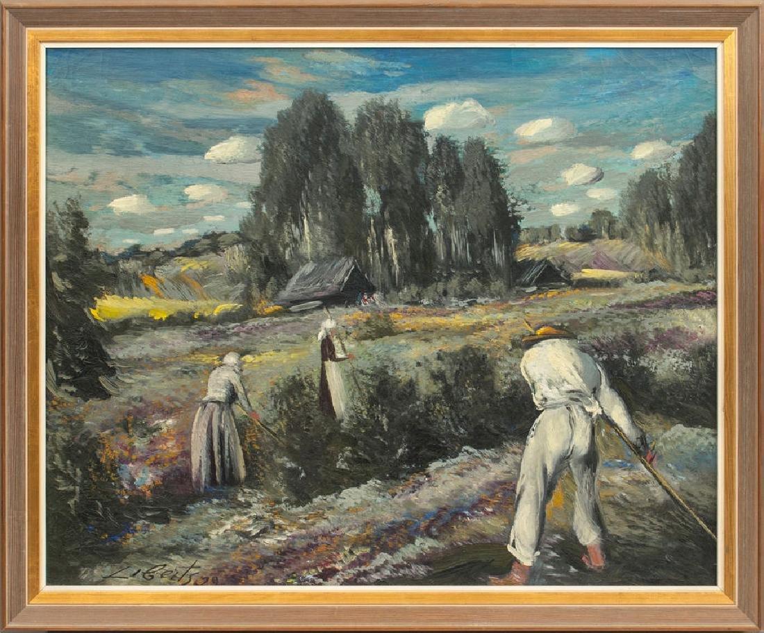 Haymaking, Ludolfs Liberts (1895-1959)