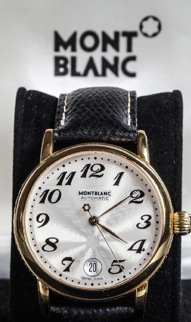 Men's Montblanc Star Automatic Gilt Wrist Watch - 3