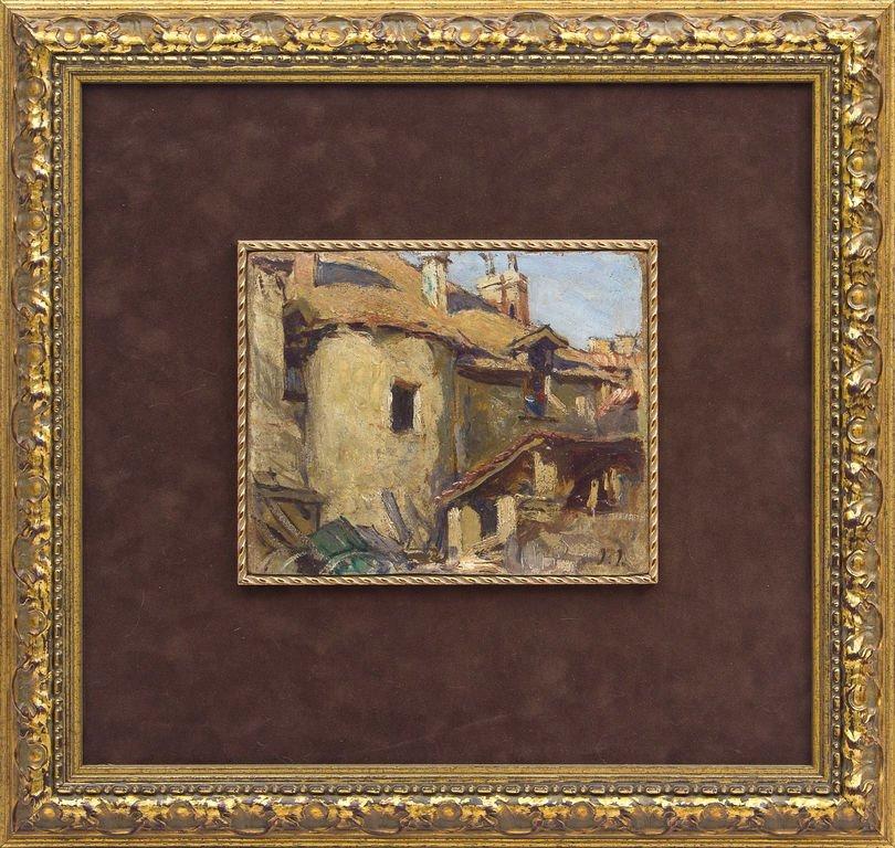 Vizile Castle, Janis Roberts Tilbergs
