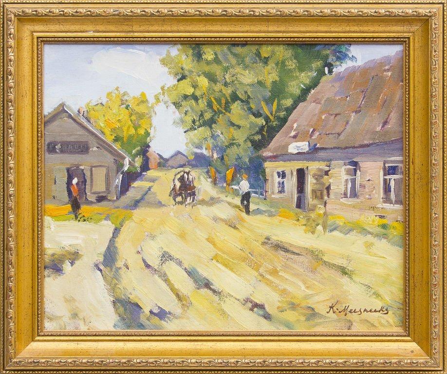 Small town, Karlis Miesnieks