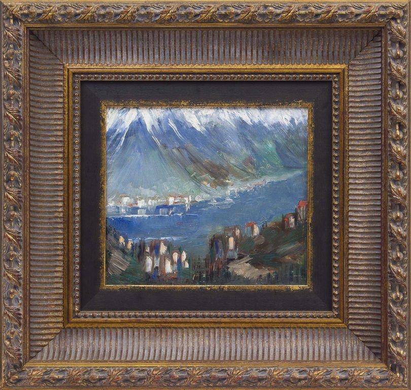 The mountains, Janis Ferdinands Tidemanis