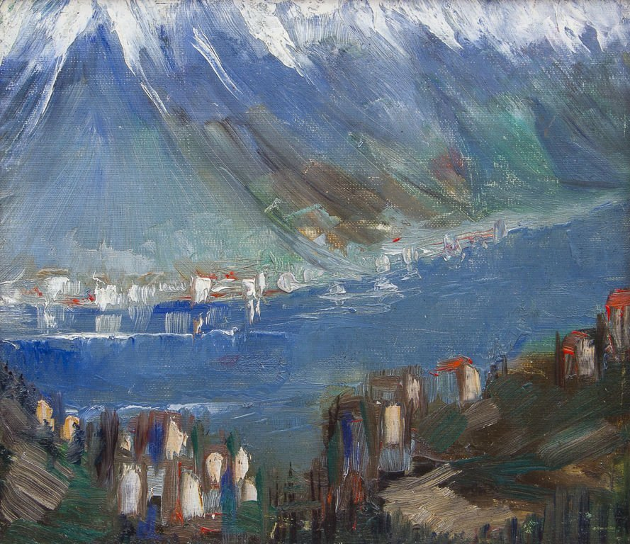 The mountains, Janis Ferdinands Tidemanis - 2