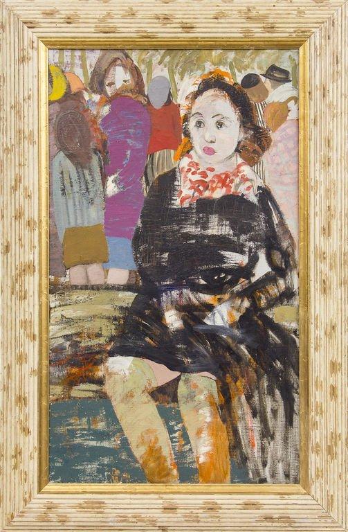 The factory girl, Janis Pauluks