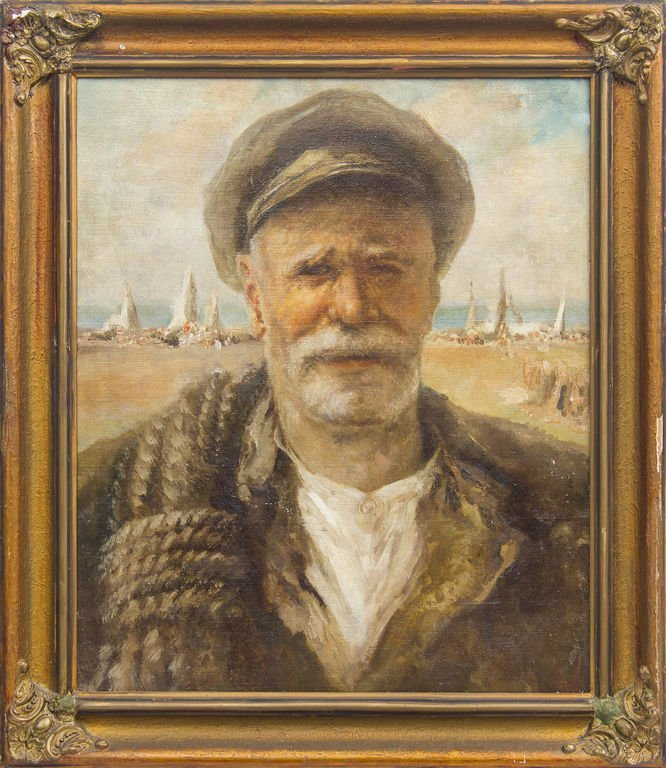 Old fisherman, Ludolfs Liberts