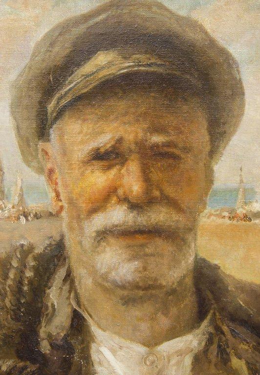 Old fisherman, Ludolfs Liberts - 2