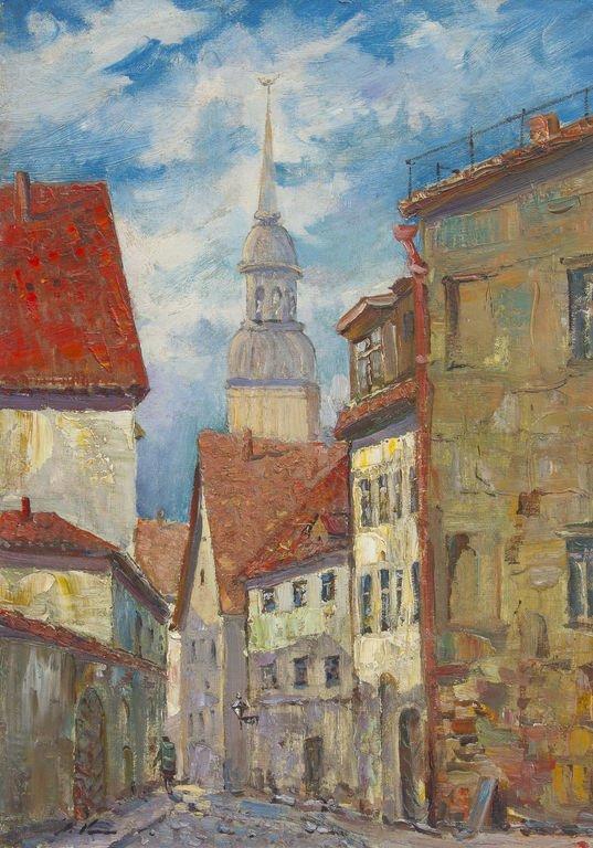 Old city of Riga, Stanislavs Kreics