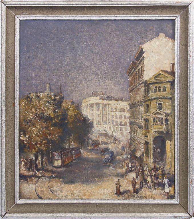 Aspazija's boulevard - Riga , Vilis Vasarins