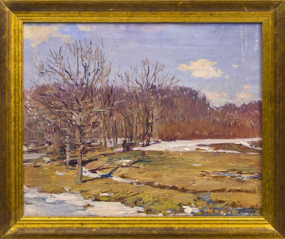 Spring landscape, Voldemars Vimba