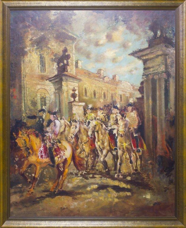 Rundale Palace, Hercog Byron in ride, Ludolfs Liberts