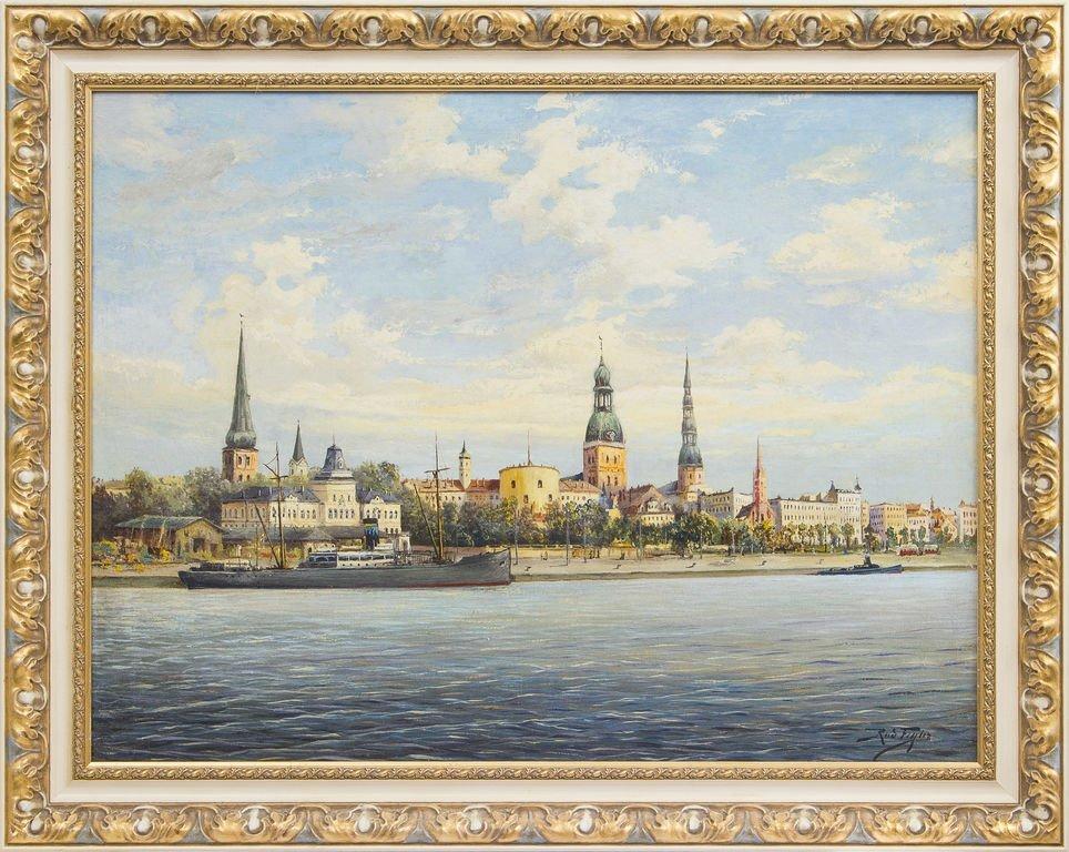 Panorama of Riga, Rudolfs Freilers