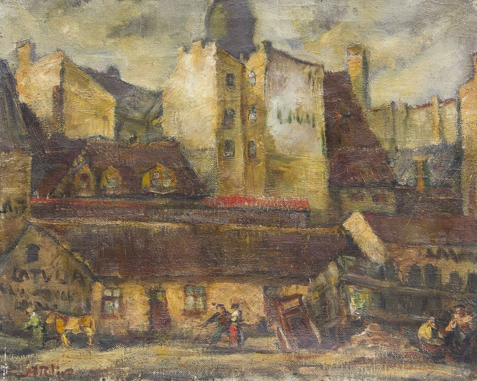 Old city of Riga, Alters Arturs Ritovs
